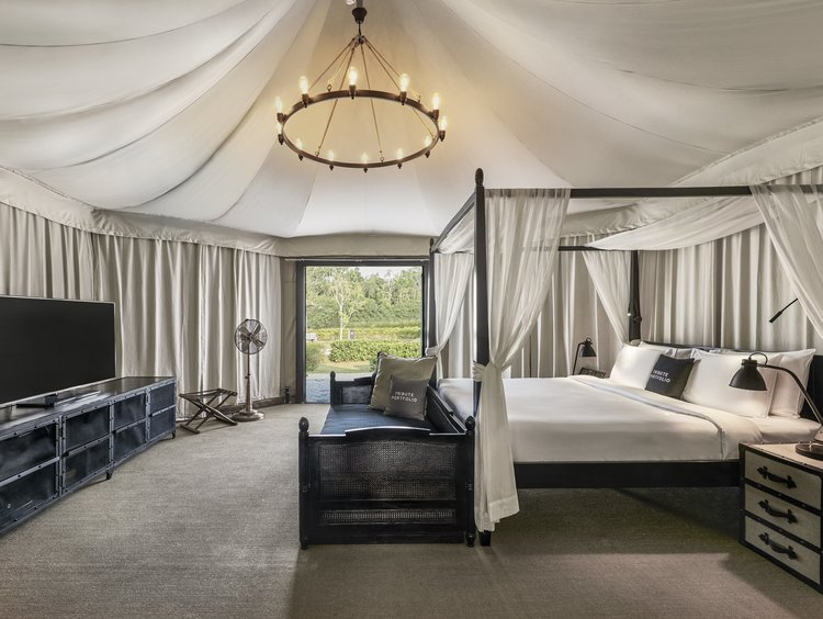 Glamping Deluxe Tent